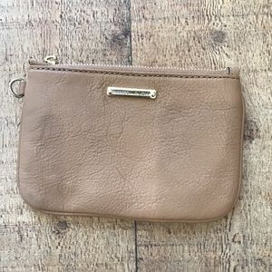 Rebecca Minkoff Brown Leather Pouch Wristlet